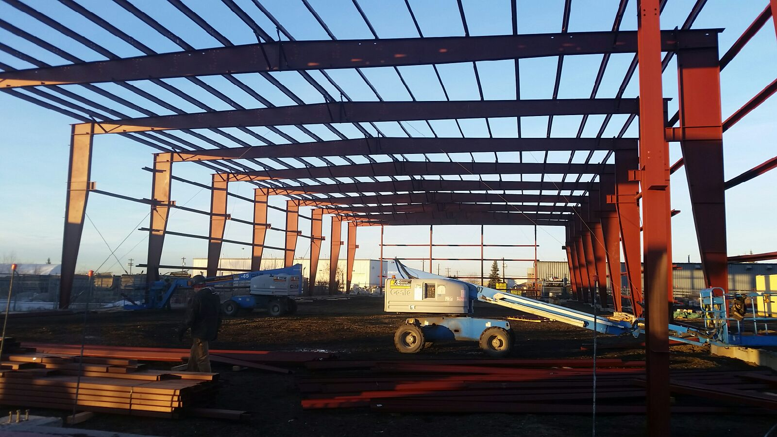 Photo of Steel Structure